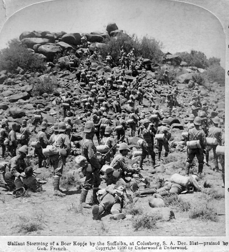 Suffolk Regiment at Colesberg