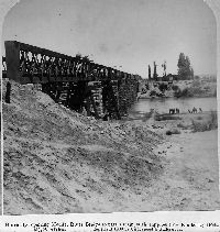 Repairing Modder River Railway Bridge