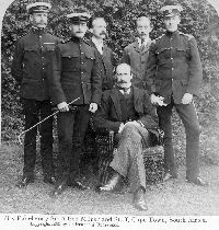 Sir Alfred Milner and Staff