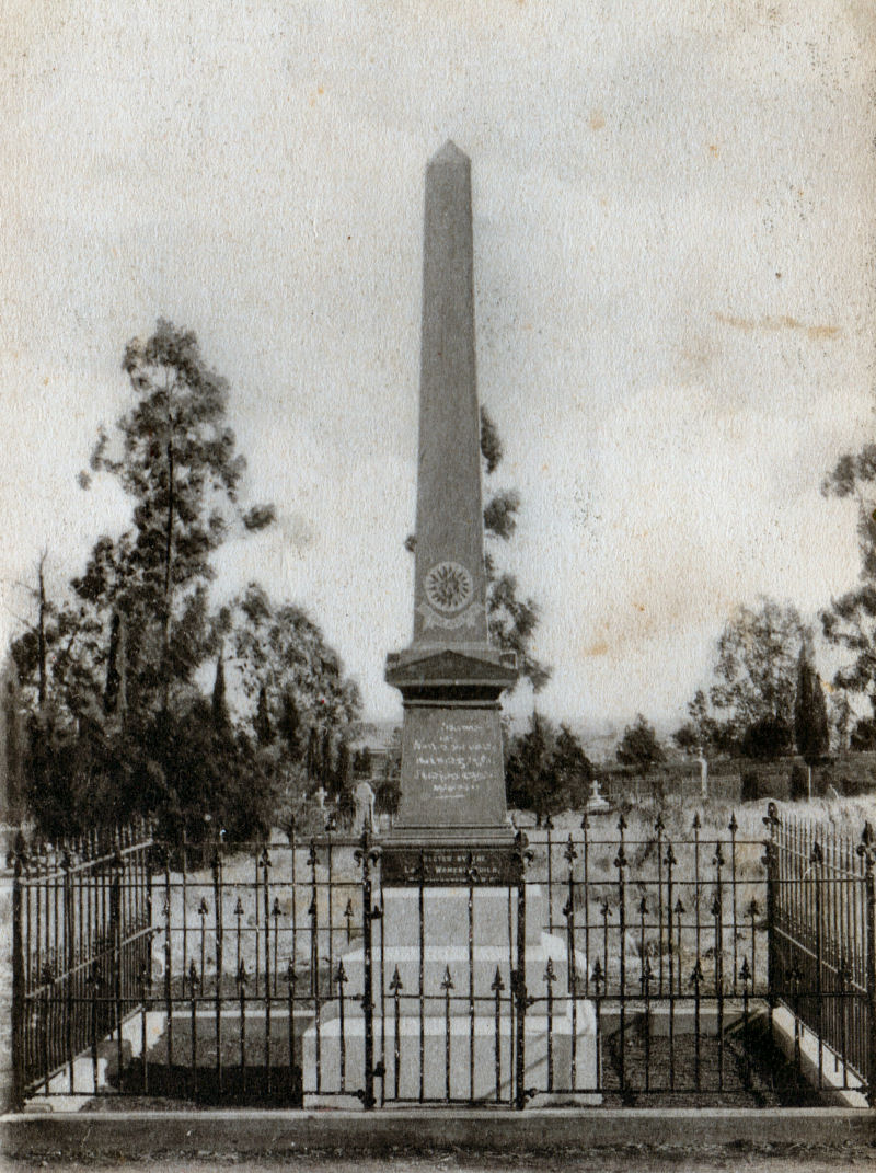 Wynberg Boer War Memorial - click to see an enlarged version