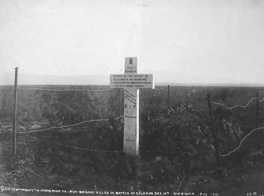 Memorial to the Irish Brigade who fell at Colenso