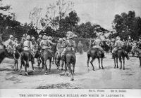 Meeting of the Generals (Buller & White) at  Ladysmith