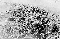 Spion Kop January 1900 British lie dead in trenches